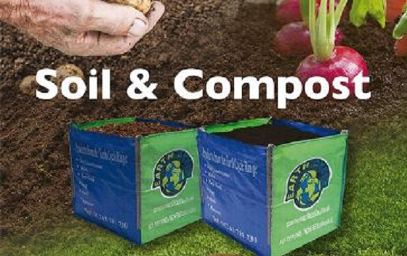 Win 2 Bulk Bags of Compost Soil Conditioner