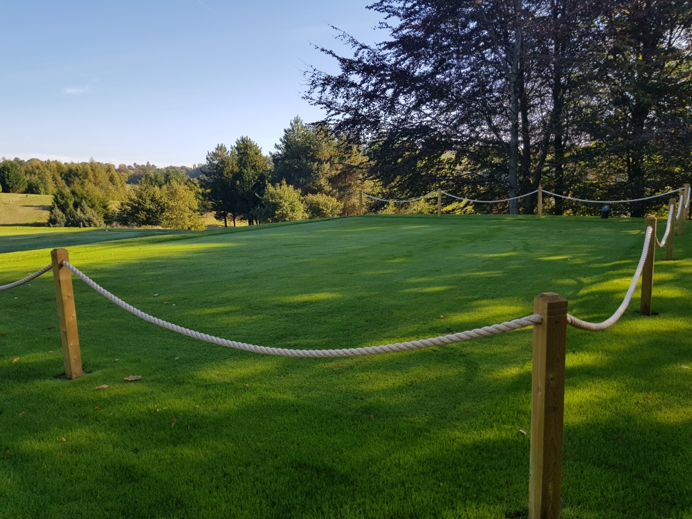 Cowdray Park Golf Club create new Championship Tee using  Earth Cycle