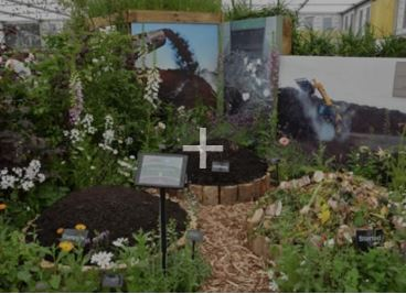 Earth Cycle Peat Free Compost helps win GOLD at Chelsea