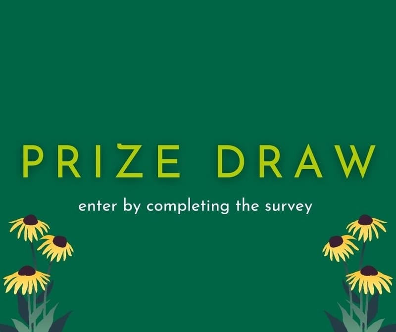 Gardening Survey 2021 Terms and Conditions