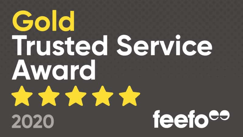 Earth Cycle receives Feefo Gold Trusted Service Award 2020