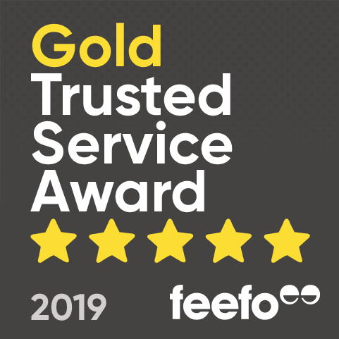 Earth Cycle Awarded Feefo Gold Trusted Service Award 2019