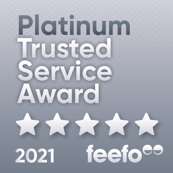 Earth Cycle receives Feefo Platinum Trusted Service Award 2021