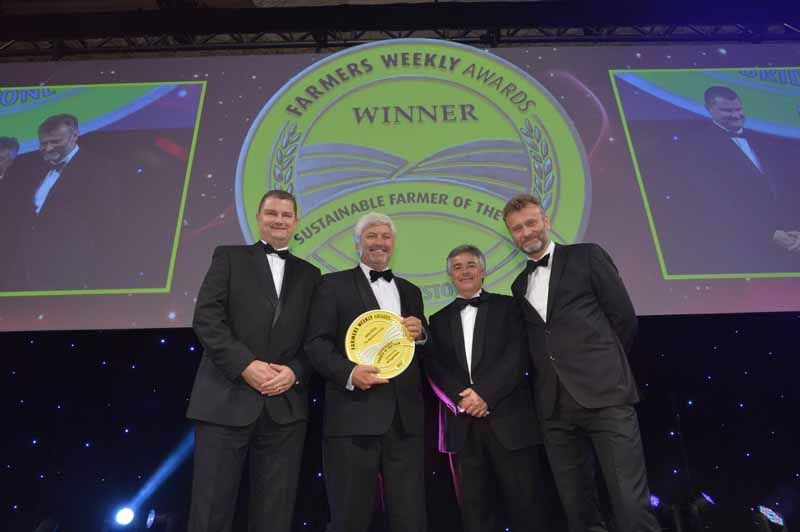 John Pitts rewarded for sustainability at Farmers Weekly Awards!
