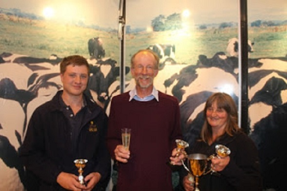 We are winners of the '2013 LKL Dairy Team of the Year'!