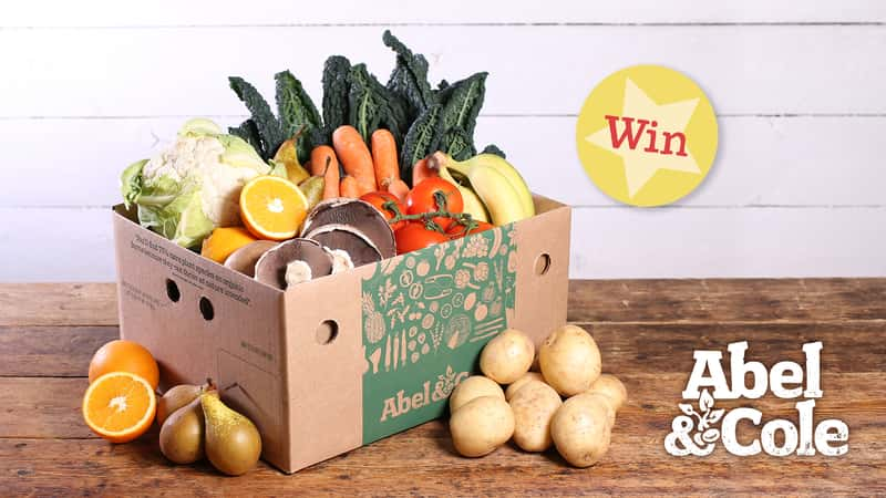 Win Abel & Cole organic food boxes and Earth Cycle Bulk Bags