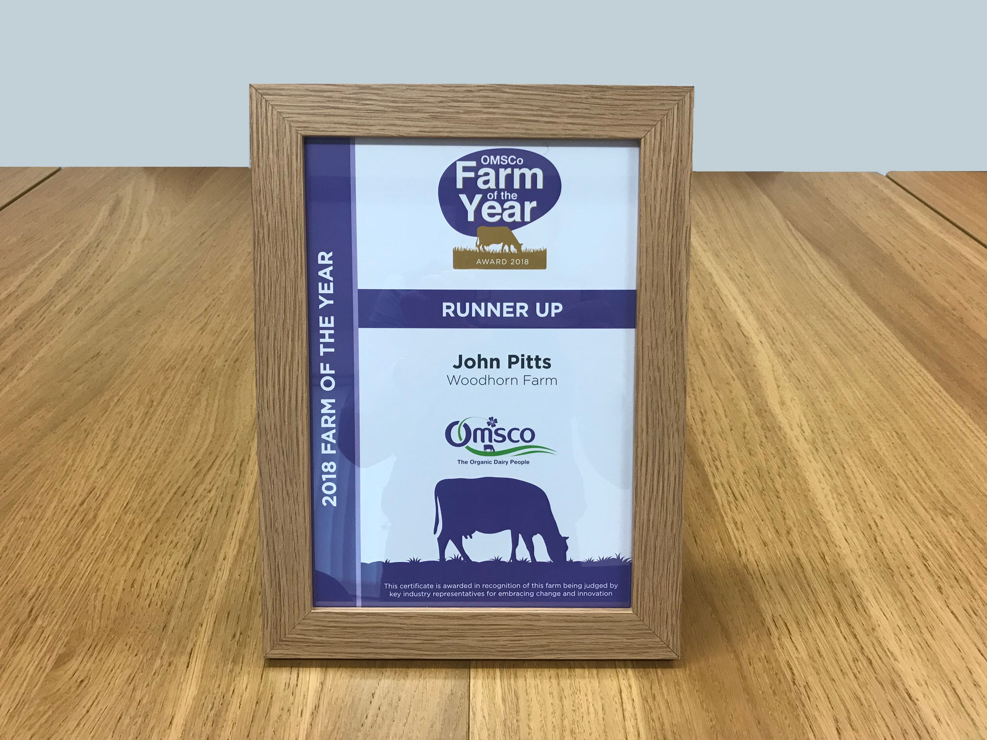 OMSCo Farm of the Year Awards 2018