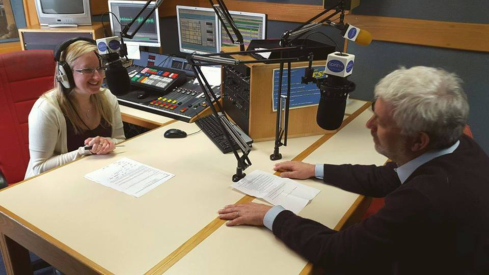 The Woodhorn Group MD, John Pitts hits the airwaves!