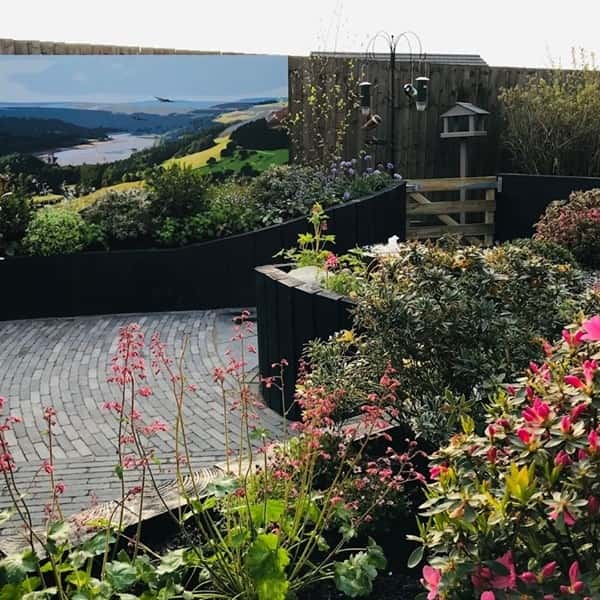 ITV Love Your Garden with Alan Titchmarsh raised beds with Earth Cycle Topsoil